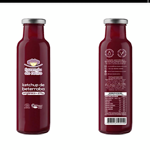 Ketchup de Beterraba Orgânico 275g