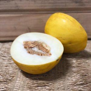 Melão Amarelo Orgânico 1,2 kg - 1,5 kg
