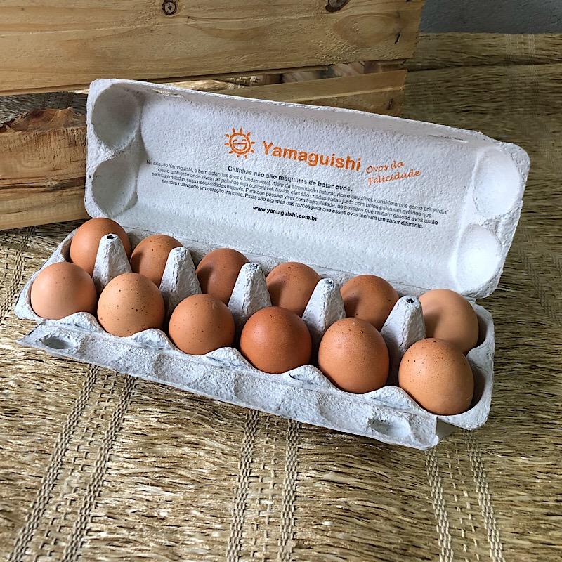 Ovos Orgânicos Dúzia - Yamaguishi