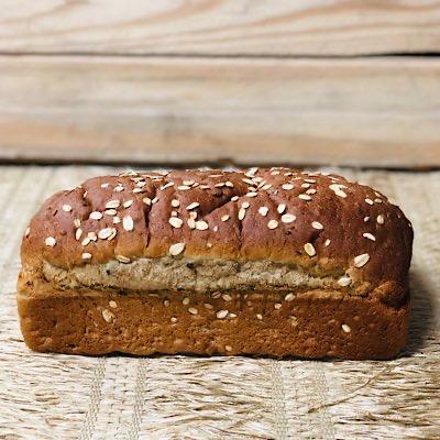 Pão Multi Grãos Vegano Orgânico 540g - Wheat