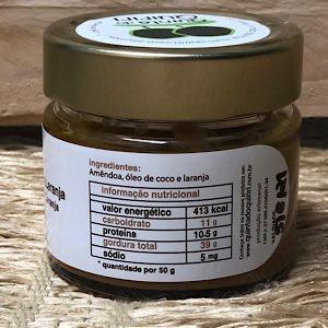 Pasta de Amêndoa com Laranja 150g - Quiriri