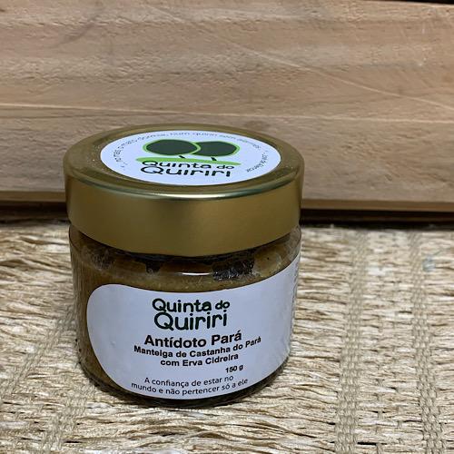 Pasta de Castanha do Pará e Capim Limão 150g - Quiriri