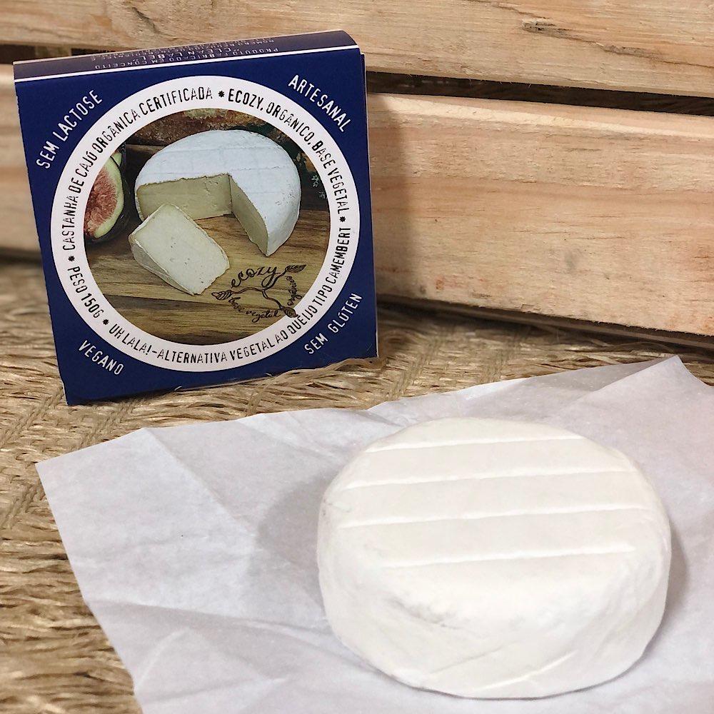 Queijo Vegetal Camembert Tradicional Uhlala - 150g  - Vegano Ecozy
