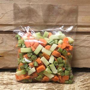Seleta de Legumes Higienizada Orgânica 300g