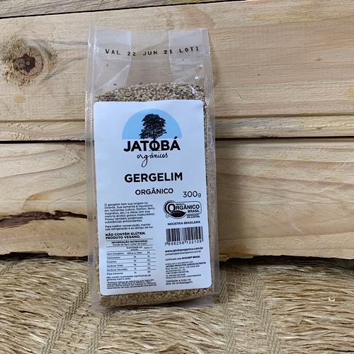 Semente de Gergelim Orgânico 300g - Jatobá
