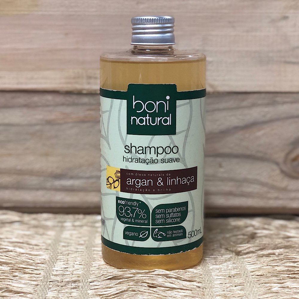 Shampoo Argan e Linhaca 500ml