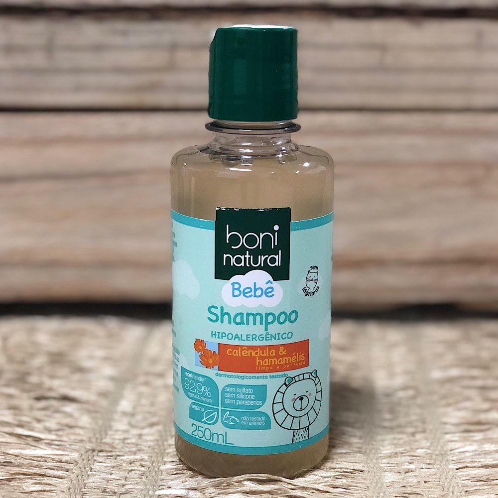 Shampoo Bebê Calêndula & Hamamélis 250ml