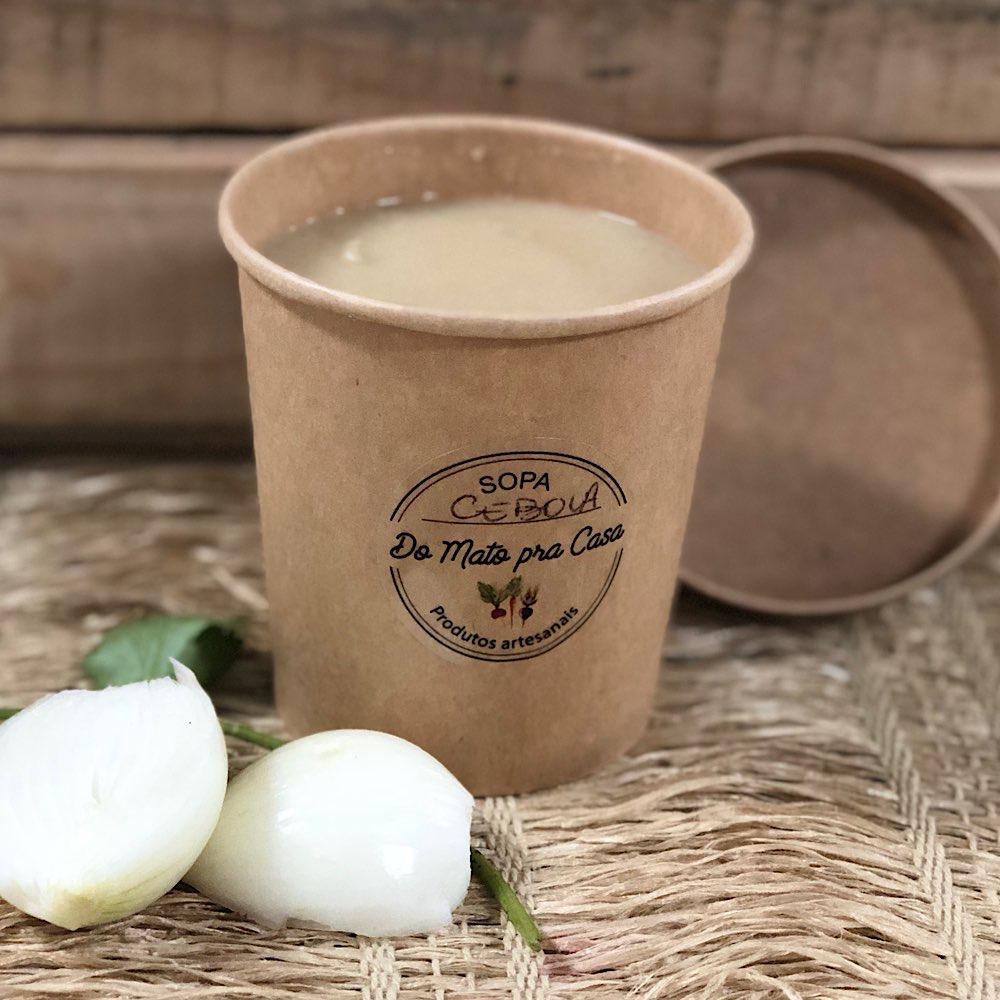Sopa de Cebola Caramelizada Orgânica 400ml - Congelado