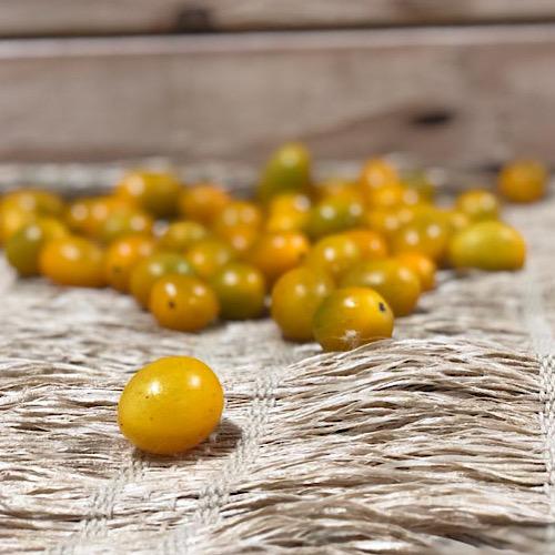 Tomatinho Pera Amarelo Orgânico 250g