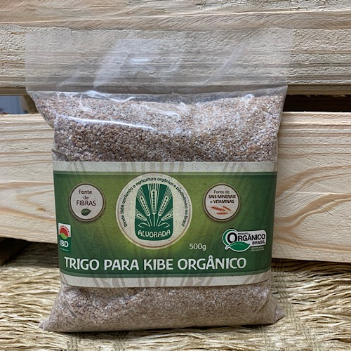 Trigo Para Kibe Orgânico 500g