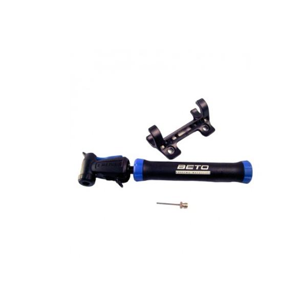 Bomba Nylon Beto CMPB-03B 2-Way Pocket Pump C/ Agulha Preto