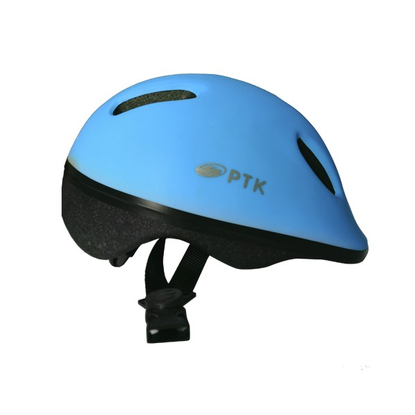 Capacete Ciclismo Infantil Baby C/ Regulador Azul Claro