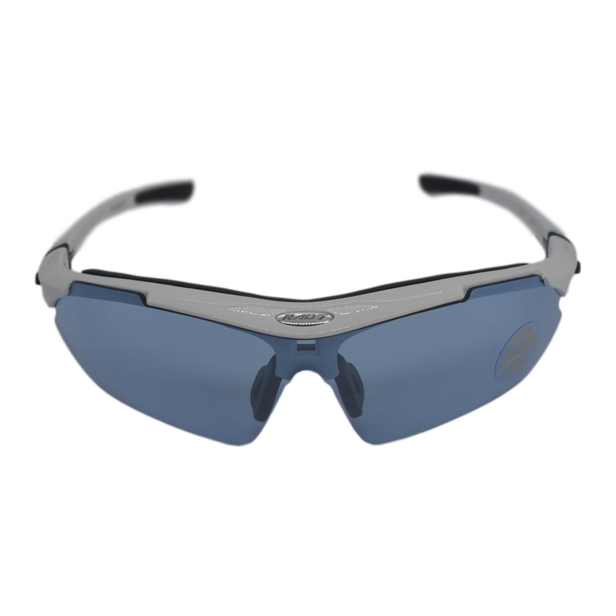 Óculos Ciclista RAD7 Concept 05 Lentes Haste Branco c/ Preto