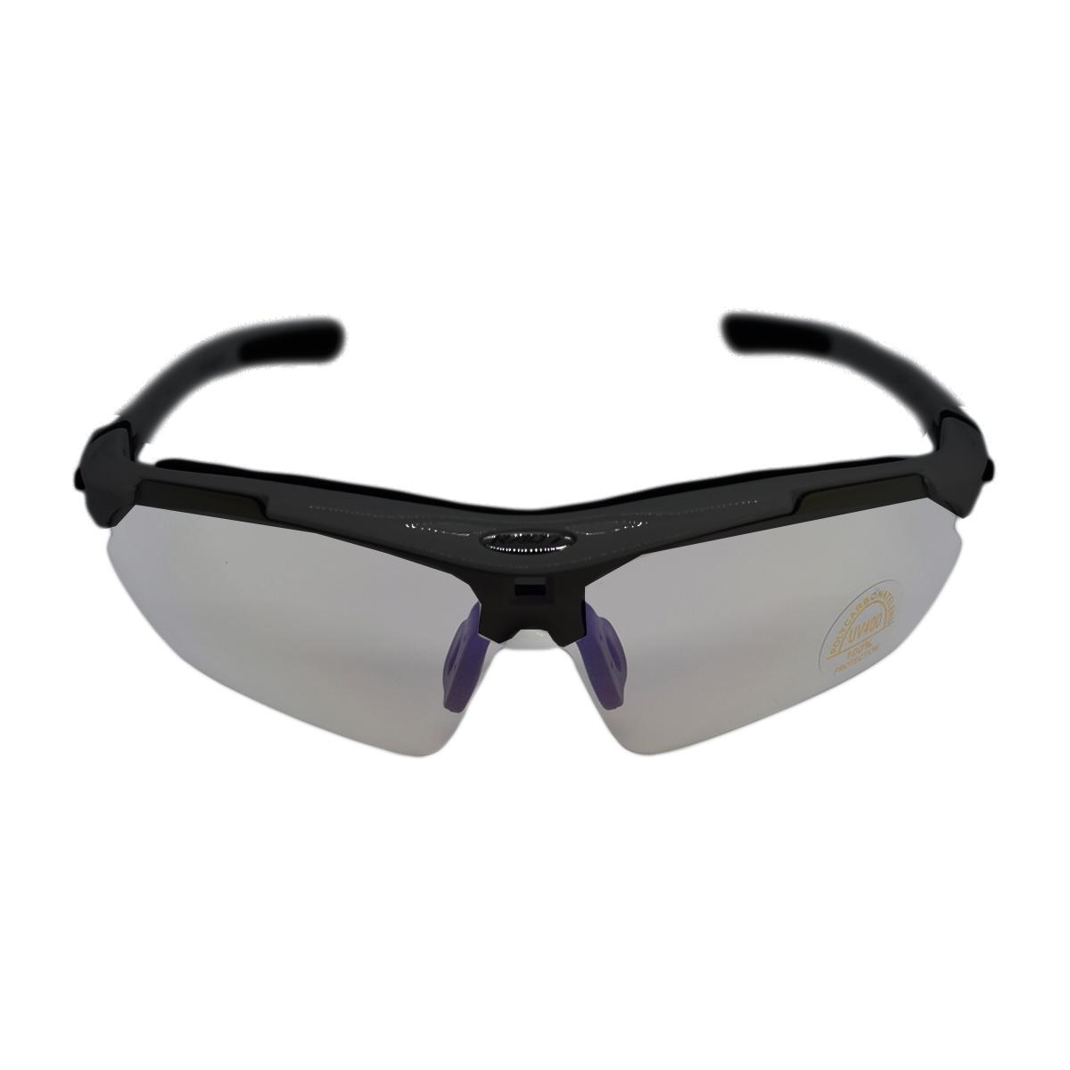Óculos Ciclista RAD7 Concept 05 Lentes Haste Preto