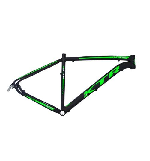 Quadro 29 Aluminio KTR Action Disco 19 Preto Fosco C/ Verde