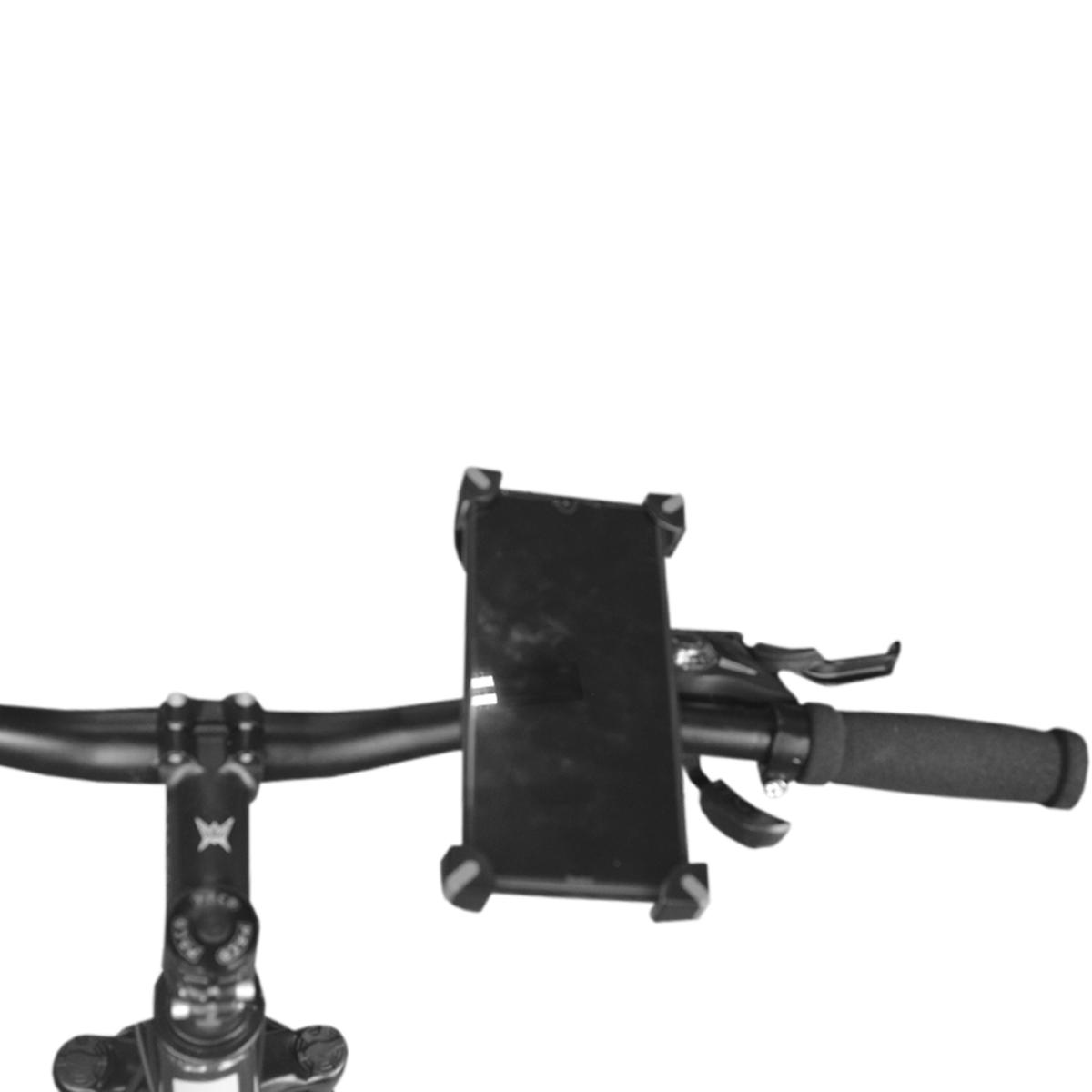 Suporte Celular Universal Bike Moto Regulável BG-P02 Preto