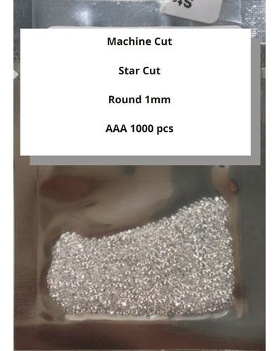 1000 Pedras Zirconia Tamanho 1,00mm Envio Imediato