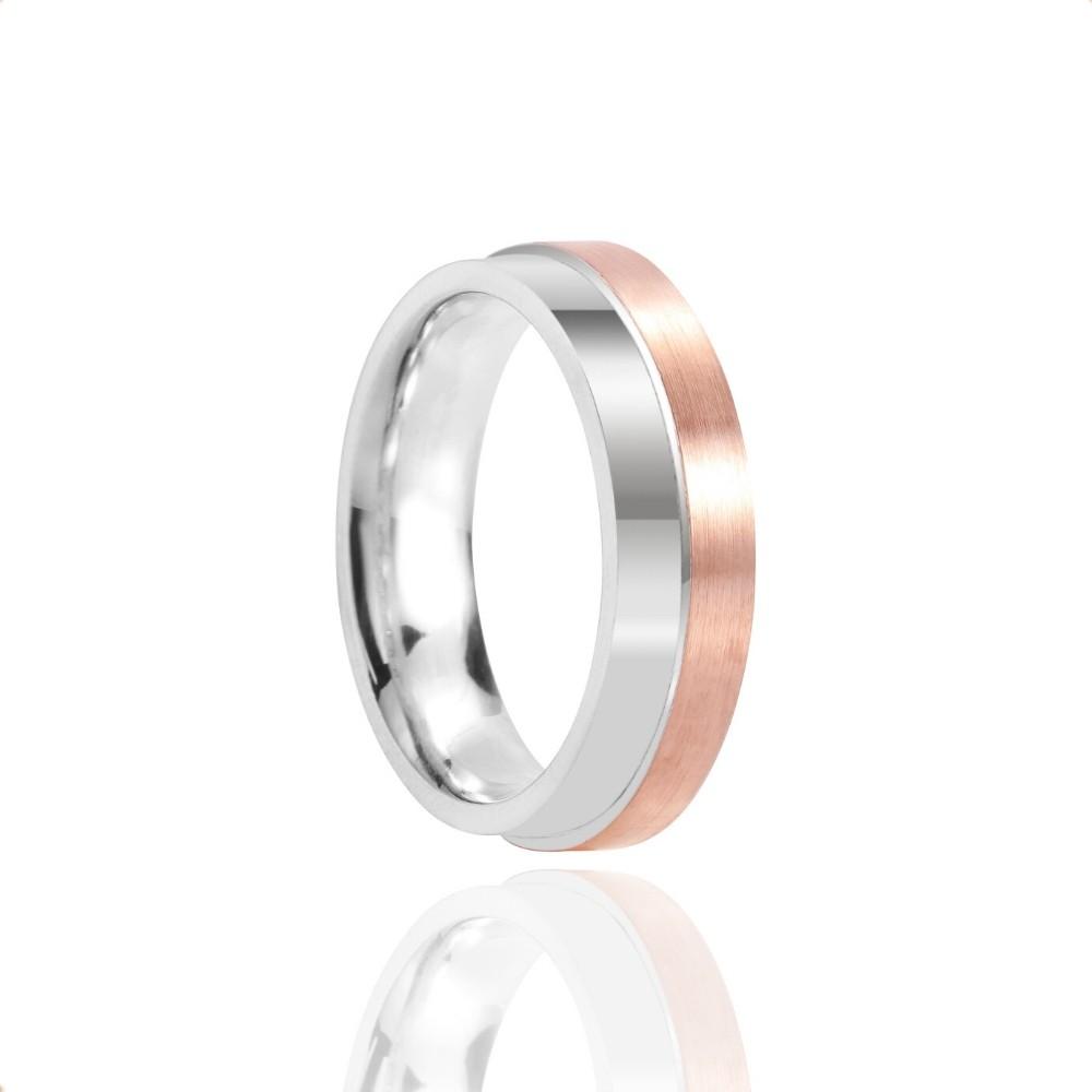Alianças Casamento Ouro 10k Polido Fosco 6mm
