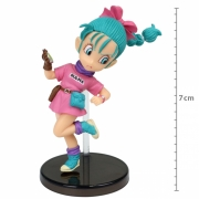 ACTION FIGURE DRAGON BALL - BULMA -THE HISTORICAL CHARACTERS WCF REF:21881/21885