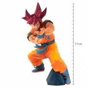 ACTION FIGURE DRAGON BALL SUPER - GOKU SUPER SAYAJIN GOD - BLOOD OF SAIYANS SPECIAL VI REF: 29826/29827