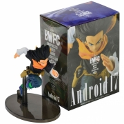 ACTION FIGURE DRAGON BALL Z - ANDROID 17 - WORLD COLOSSEUM2 REF: 34583/34584