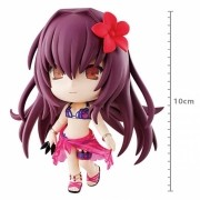 ACTION FIGURE FATE GRAND ORDER - ASSASSIN/SCATHACH - KYUN CHARA REF.28306/28307