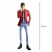 ACTION FIGURE LUPIN THE THIRD PART 5 - LUPIN - MASTER STAR PIECE REF.28392/28393