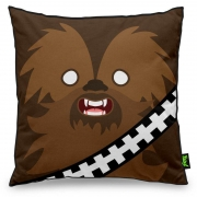 Almofada Geek Side Faces - Chill Bacca
