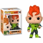 BONECO FUNKO POP DRAGON BALL Z - ANDROID 16 - #708