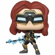BONECO FUNKO POP MARVEL AVENGERS GAME - BLACK WIDOW (STARK TEC) #630