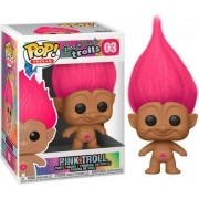 BONECO FUNKO POP TROLLS - PINK TROLL #03