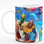 Caneca de Porcelana League of Legends #03