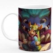 Caneca de Porcelana League of Legends #08