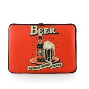 "Case para Notebook Basic 14"" - Duff Beer"