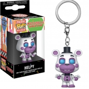 CHAVEIRO FUNKO POP KEYCHAIN - FIVE NIGHTS AT FREDDY - PIZZA HELPY