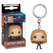CHAVEIRO FUNKO POP KEYCHAIN - MARVEL CAPTAIN MARVEL CAPTAIN