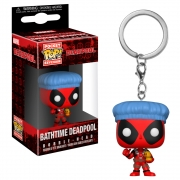 CHAVEIRO FUNKO POP KEYCHAIN MARVEL DEADPOOL - BATHTIME DEADPOOL