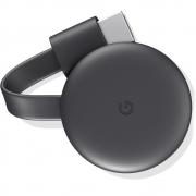 Chromecast 3 Google Full HD com Wi-Fi/HDMI - Preto