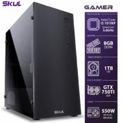 COMPUTADOR GAMER 3000 - I3 10100F 3.6GHZ MEM 8GB DDR4 HD 1TB GTX750TI 2GB FONTE 550W 80PLUS BRONZE