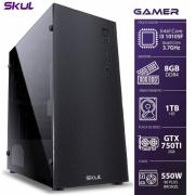 COMPUTADOR GAMER 3000 - I3 10105F 3.7GHZ MEM 8GB DDR4 HD 1TB GTX750TI 2GB FONTE 550W 80PLUS BRONZE