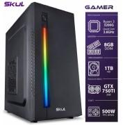 COMPUTADOR GAMER 3000 - RYZEN 3 3200G 3.6GHZ MEM. 8GB DDR4 HD 1TB GTX 750TI 2GB FONTE 500W