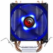 COOLER PARA PROCESSADOR KZ2 LED AZUL (INTEL/AMD) - TDP 95W - 92MM - ACZK292LDA