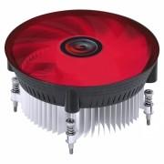 COOLER PARA PROCESSADOR - NOTUS I300 - LED VERMELHO (INTEL) TDP 100W- 120MM - PAC120PRLV
