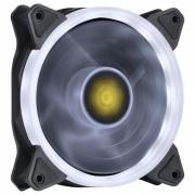 FAN/COOLER VX GAMING PARA GABINETE V.RING ANEL DE LED 120X120MM BRANCO - VRINGW