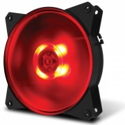 FAN PARA GABINETE MASTERFAN 120MM MF120L LED VERMELHO - R4-C1DS-12FR-R1
