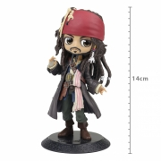 FIGURE DISNEY CHARACTERS PIRATES OF THE CARIBBEAN Q POSKET - JACK SPARROW - VER A REF:21497/21498