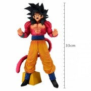 ACTION FIGURE DRAGON BALL GT - GOKU SUPER SAYAJIN 4 - SUPER MASTER STAR PIECE THE BRUSH REF.27947/27948