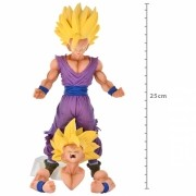 ACTION FIGURE DRAGON BALL SUPER - GOHAN SUPER SAYAJIN - LEGEND BATTLE REF.28549/28550