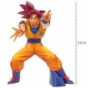 FIGURE DRAGON BALL SUPER - GOKU SUPER SAYAJIN GOD - MAXIMATIC REF: 17034/22492