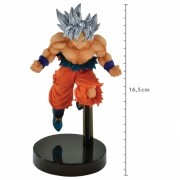 ACTION FIGURE DRAGON BALL SUPER - GOKU ULTRA INSTINTO SUPERIOR - Z-BATTLE REF: 34822/34823